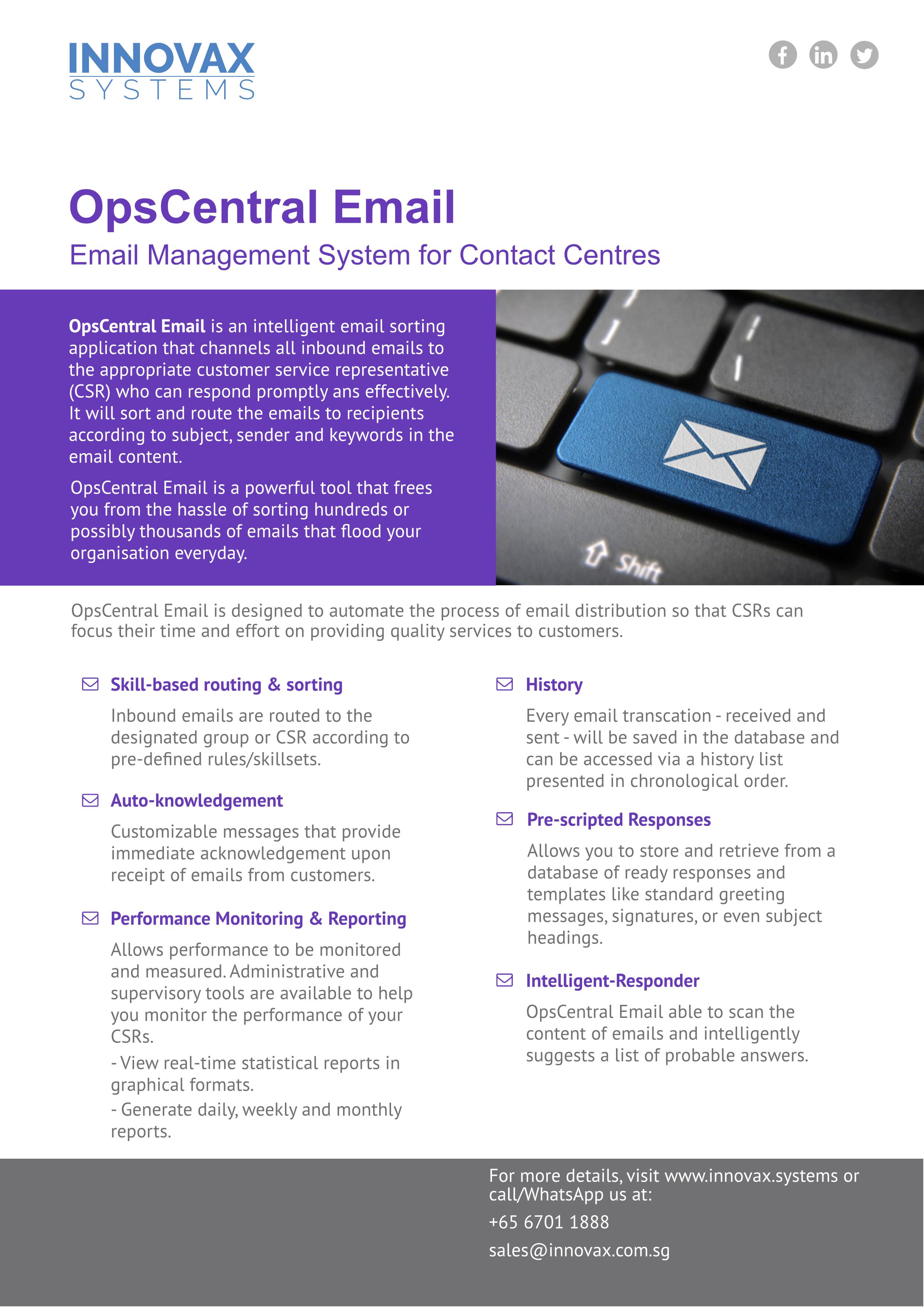 OpsCentral_email